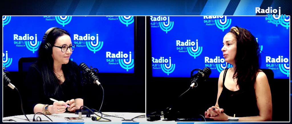 Léa Rinaldi sur RadioJ